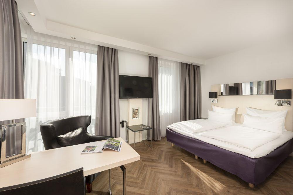 Scandic Hotel Kurfürstendamm Zimmer