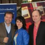Pressekonferenz Bühne Baden