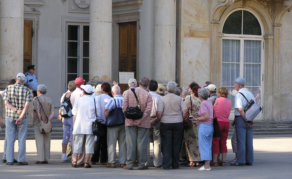 Senioren Touristen