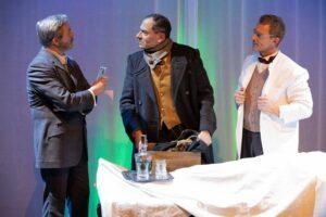 SHERLOCK HOLMES - NEXT GENERATION Sherlock und Watson beim Gerichtsmediziner