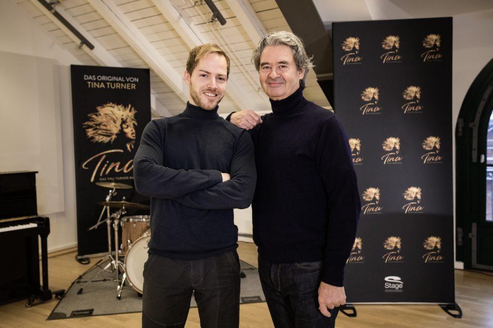 Simon Mehlich und Erwin Bach