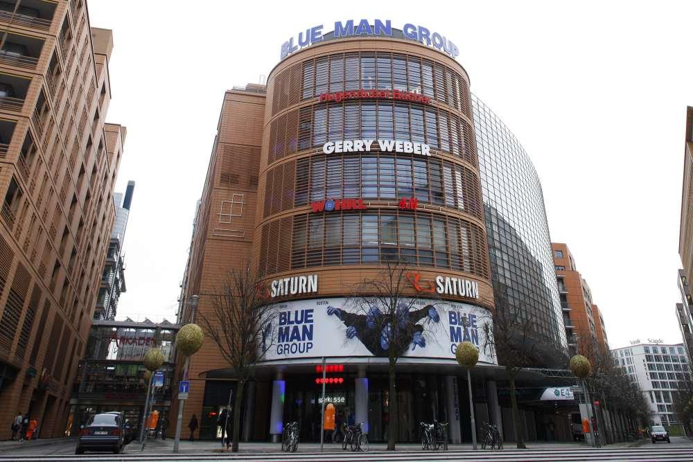 Den Besuch Bei Der Blue Man Group Mit Hotel In Berlin Buchen Musical1