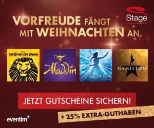 Stage Entertainment Weihnachtsaktion