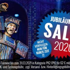 Starlight Express Jubiläums-Sale Grafik