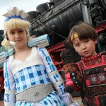 Kinder beim STARLIGHT EXPRESS Open Day