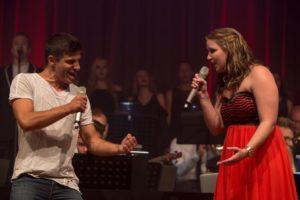 Emanuele Caserta und Dalina Schwarz