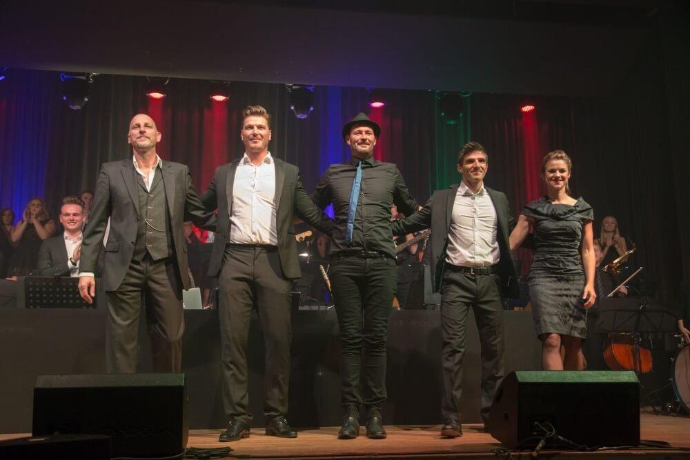 Stars mit Gastgeber Lukas Jösel