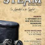 Wiederaufnahme von STEAM – Das Fantasy Musical