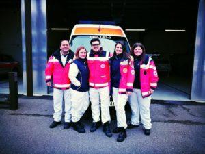 Stefan Tolnai beim Rettungsdienst