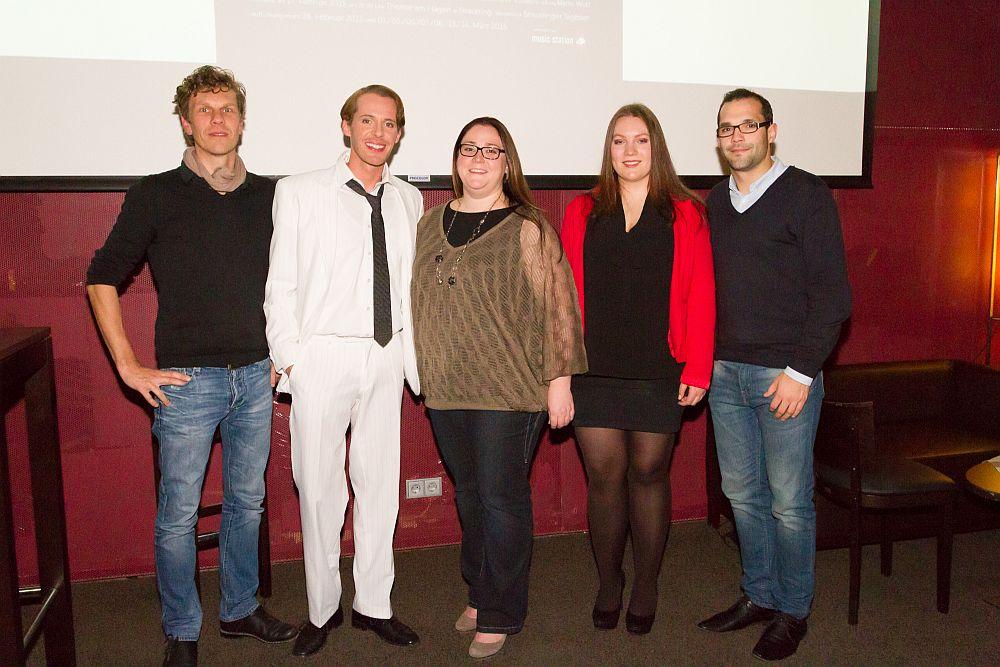 Matthias Spandl, Christian Schöne, Stephanie Lorenz, Hanna Turowski, Daniel Edenhofer