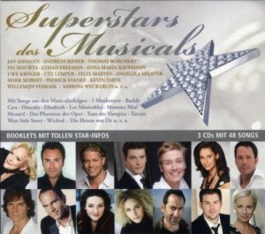 Sampler Superstars des Musicals