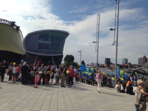 AIDA Musical-Boulevard beim Tag der offenen Tür