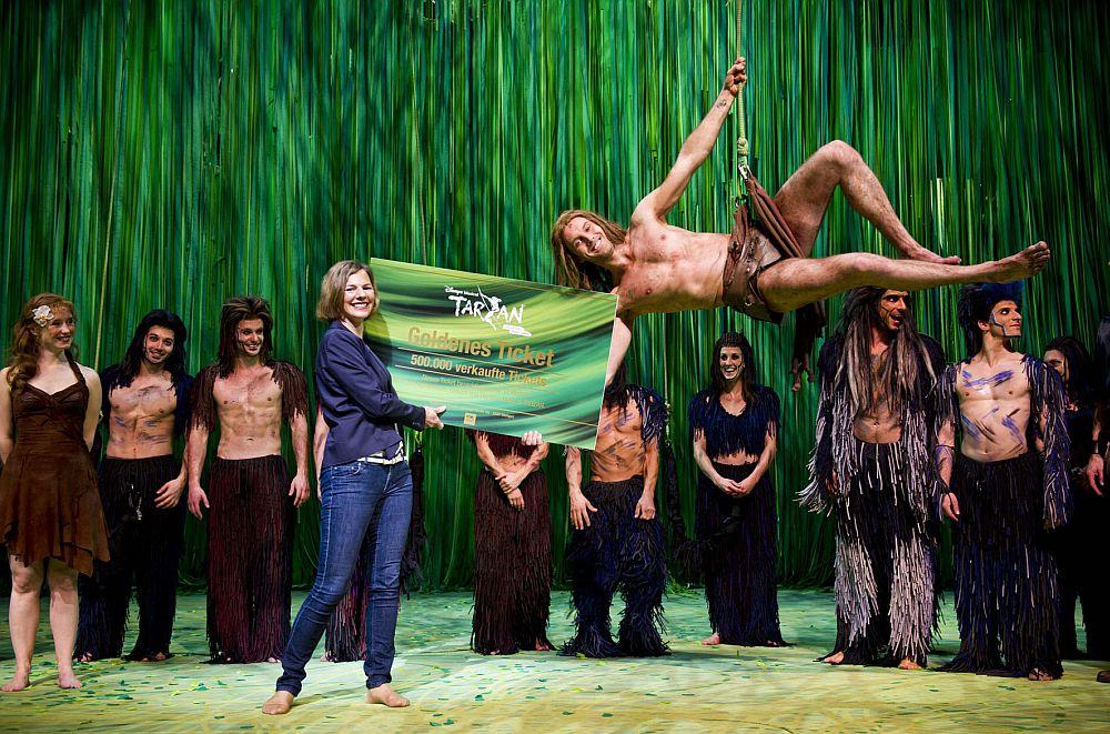 Tarzan 500.000 Besucher