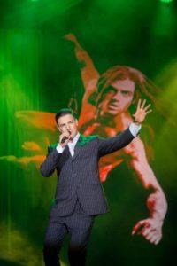 Gian Marco Schiaretti als Tarzan bei der Musical and Wine Gala