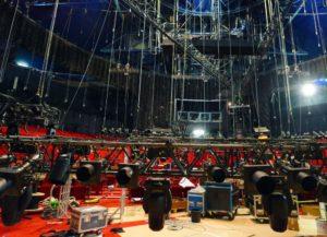 TARZAN Bühnenumbau