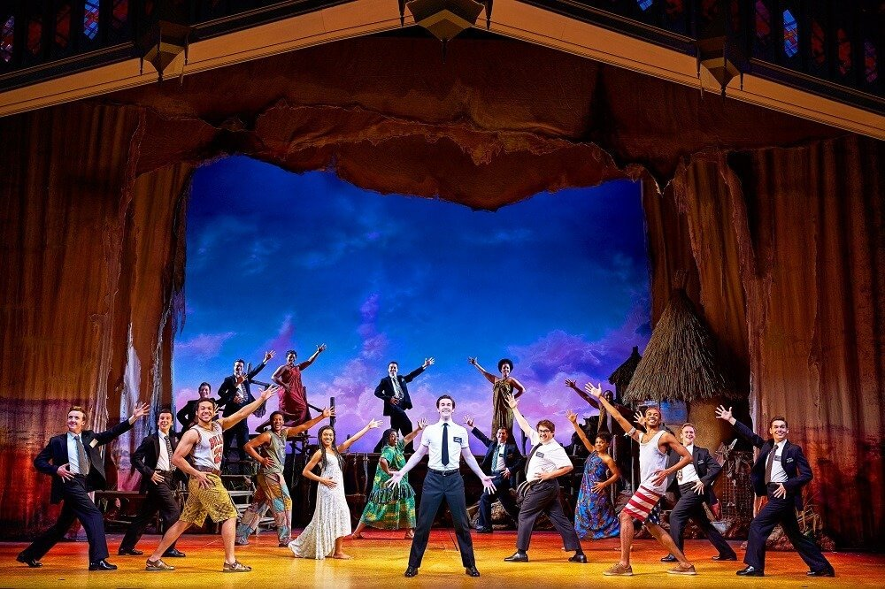 THE BOOK OF MORMON Ensemble