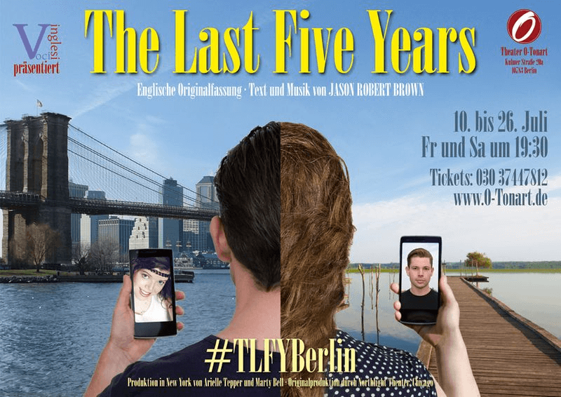 The Last Five Years Plakat