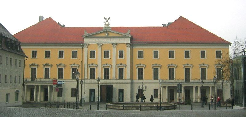 Regensburg Theater am Bismarckplatz