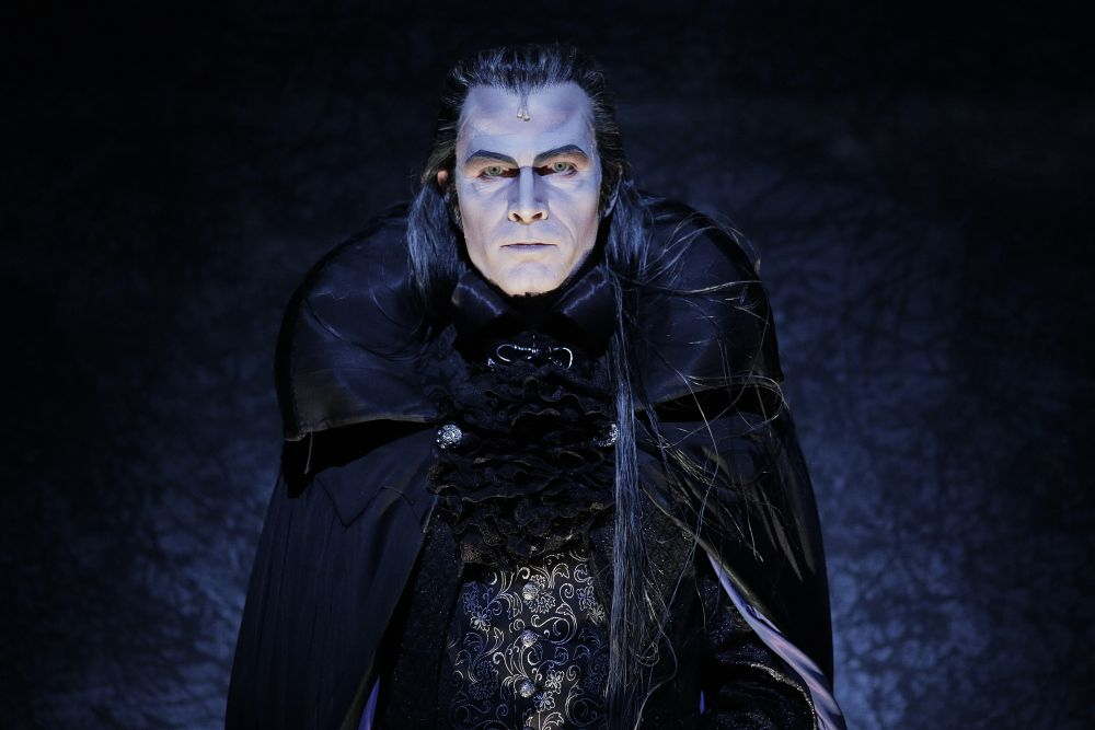 Thomas Borchert als Graf von Krolock