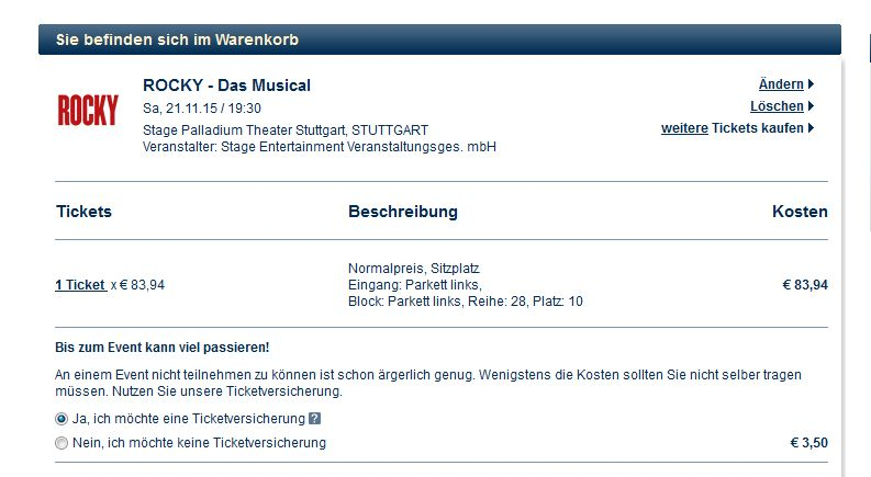 eventim ticket rückgabe