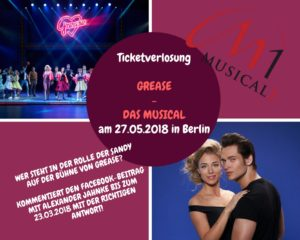 "Ticketverlosung ""Grease"""