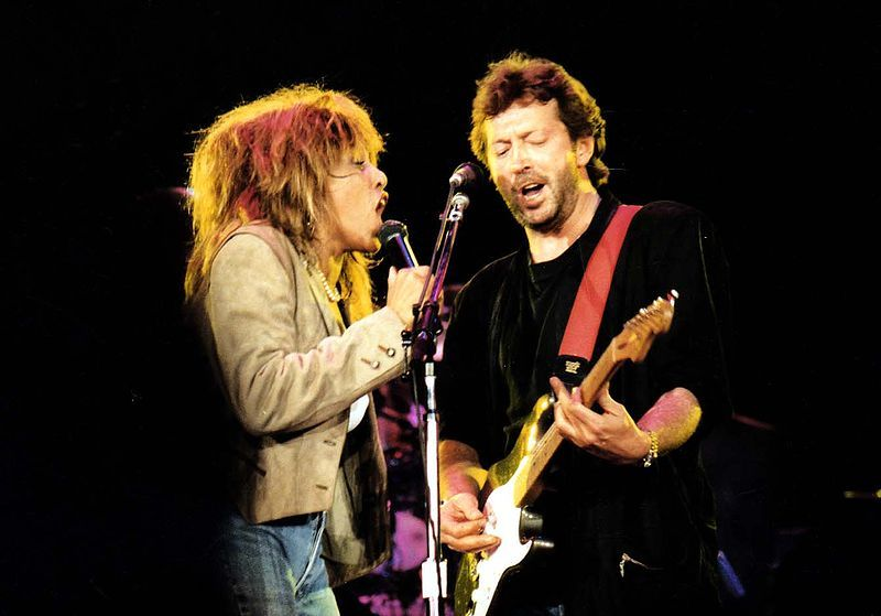 Tina Turner & Clapton
