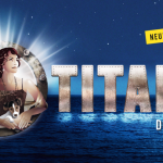 Die TITANIC fährt vor der Walensee-Bühne ein