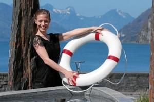 Titanic - Eveline Suter am Walensee