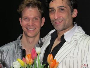 Uli Scherbel und Gianni Meurer nach der Premiere von IWNNINY