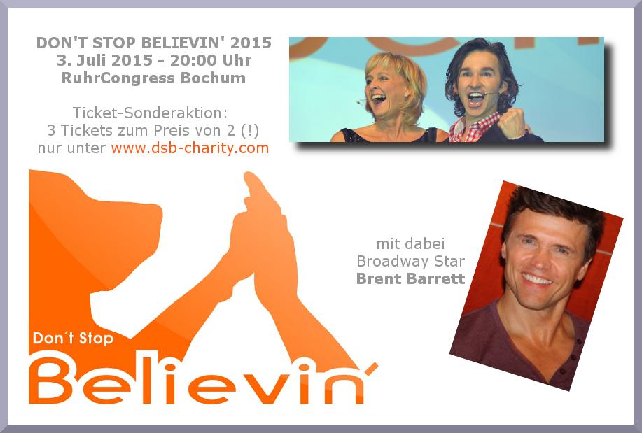 Pressefoto Gala 2015 mit Dagmar Krautscheid, Bernie Blanks und Brent Barret