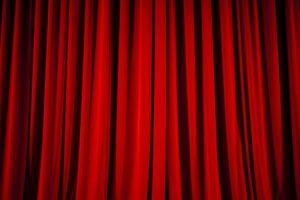 Ein Theatervorhang
