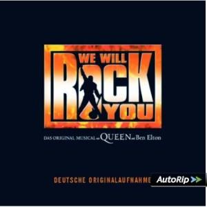 We Will Rock You CD deutsch