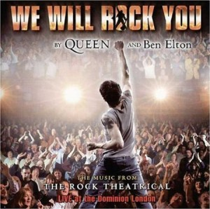 Ww Will Rock You CD englisch