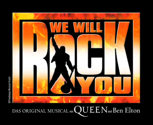We Will Rock You Logo