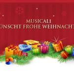Musical1 wünscht frohe Weihnachten!