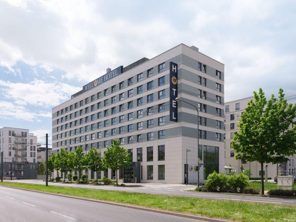 Welcome Hotel Frankfurt außen
