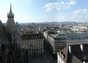 Wien Blick vom Stephansdom