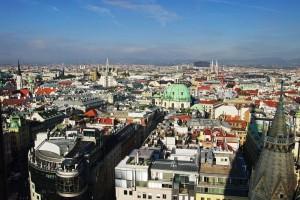 Wien vom Stephansdom