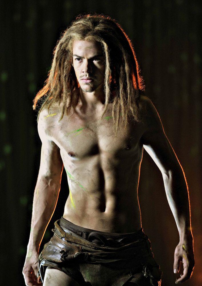 Anton Zetterholm als Tarzan
