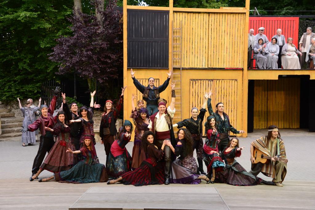 Ensemble Zorro bei der Freilichtbühne Tecklenburg 2015